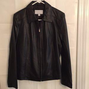 Sonoma Women's 100%Lambskin Leather Size L